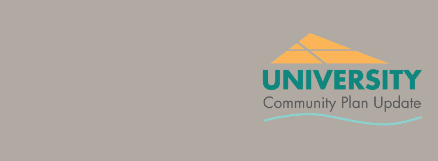 University Community Plan Update  logo