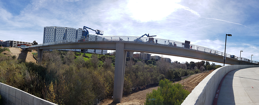 Mesa Housing Pedestrian and Bike Bridge